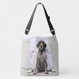 German Shorthaired Pointer - Luke - Riley Crossbody Bag
