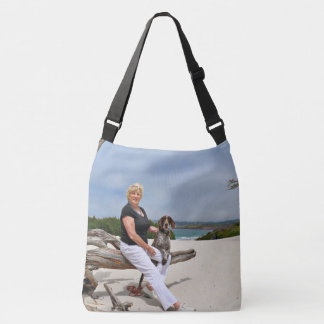 German Shorthaired Pointer - Luke - Riley Crossbody Bag