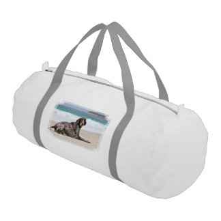 German Shorthaired Pointer - Luke - Riley Gym Duffel Bag