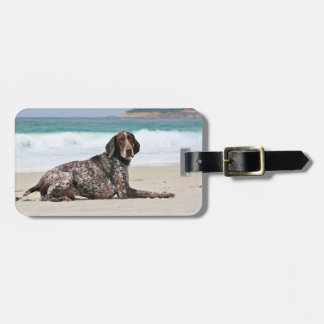 German Shorthaired Pointer - Luke - Riley Luggage Tag