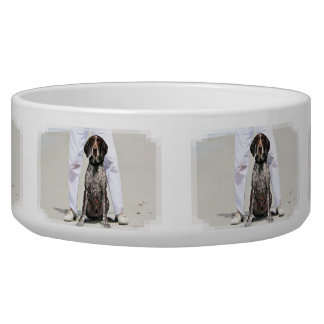 German Shorthaired Pointer - Luke - Riley Pet Water Bowl