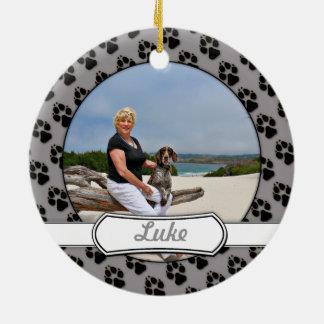 German Shorthaired Pointer - Luke - Riley Round Ceramic Decoration