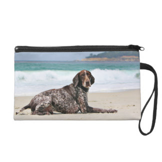 German Shorthaired Pointer - Luke - Riley Wristlet Clutch
