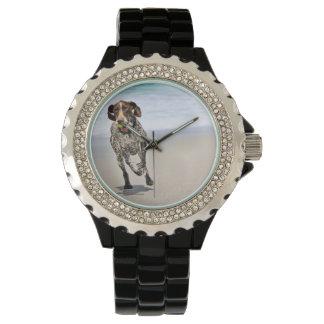 German Shorthaired Pointer - Luke - Riley Wristwatch