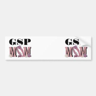 German Shorthaired Pointer MOM Bumper Sticker