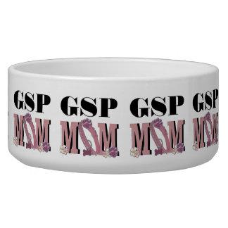 German Shorthaired Pointer MOM Dog Food Bowls