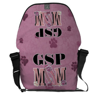 German Shorthaired Pointer MOM Messenger Bag
