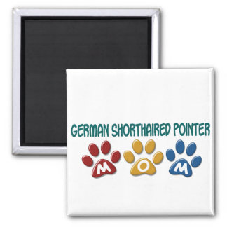 GERMAN SHORTHAIRED POINTER Mom Paw Print 1 Magnet