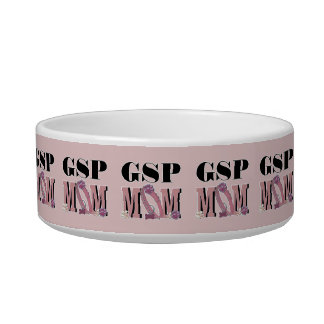 German Shorthaired Pointer MOM Pet Water Bowls