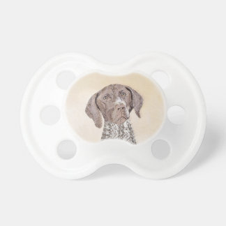 German Shorthaired Pointer Painting - Dog Art Dummy
