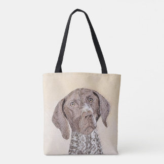 German Shorthaired Pointer Painting - Dog Art Tote Bag