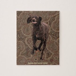 German Shorthaired Pointer Pet-lover Jigsaw Puzzle