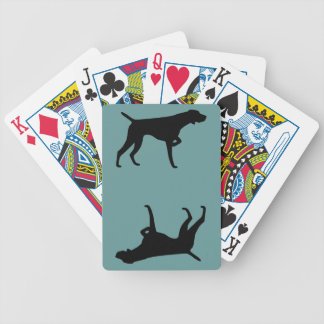 German Shorthaired Pointer Playing Cards