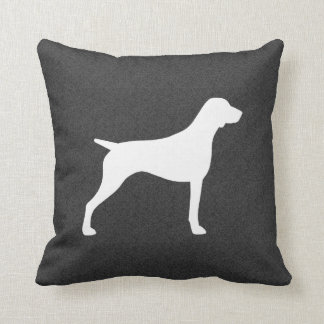 German Shorthaired Pointer Silhouette Cushion