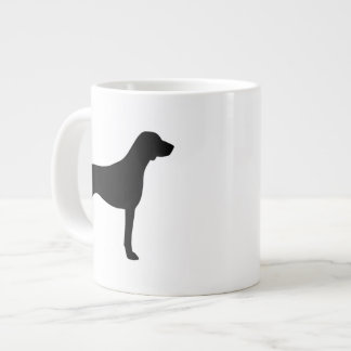 German Shorthaired Pointer Silhouettes Large Coffee Mug