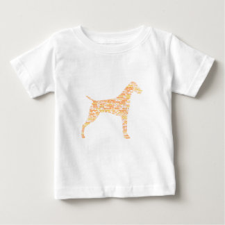 German Shorthaired Pointer Typography Baby T-Shirt