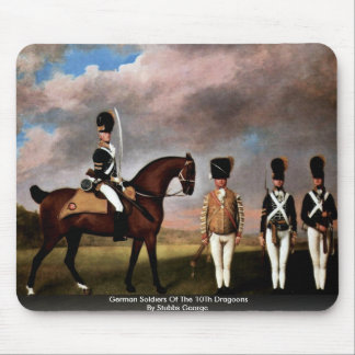 German Soldiers Of The 10Th Dragoons Mousepads