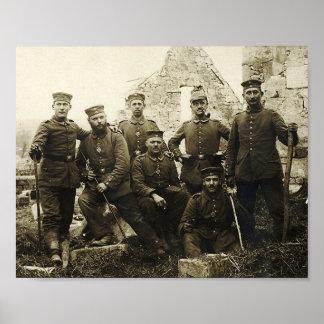German Soldiers Poster