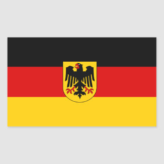 German State Flag Rectangular Sticker