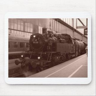 German Steam Locomotive Mouse Pad