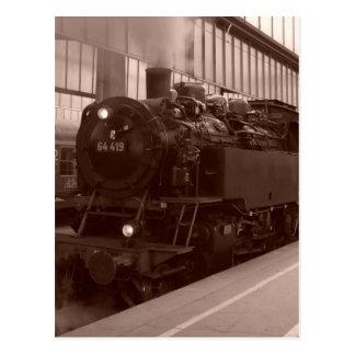 German Steam Locomotive Post Cards