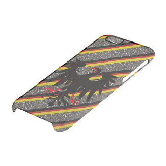 German stripes flag clear iPhone 6/6S case