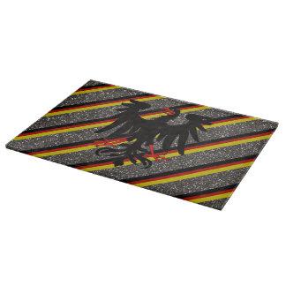 German stripes flag cutting board