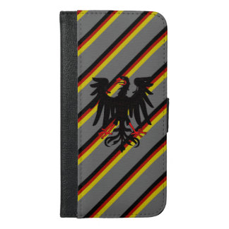 German stripes flag iPhone 6/6s plus wallet case