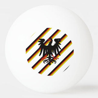 German stripes flag ping pong ball