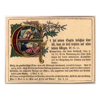 German Sunday School Card