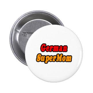German SuperMom Button