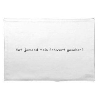 German -Sword Placemat