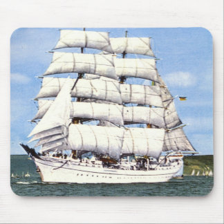 German Tall Ship Mouse Pads