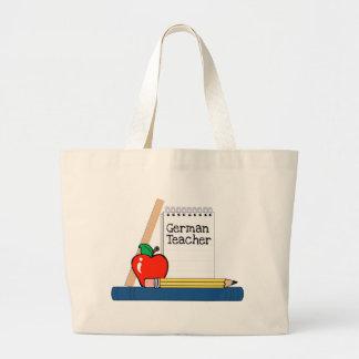 German Teacher (Notebook) Jumbo Tote Bag
