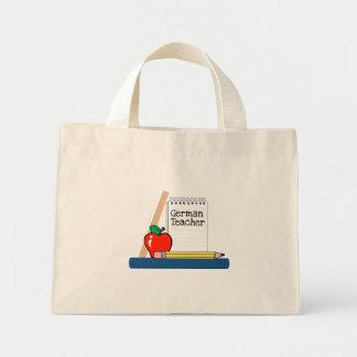German Teacher (Notebook) Mini Tote Bag