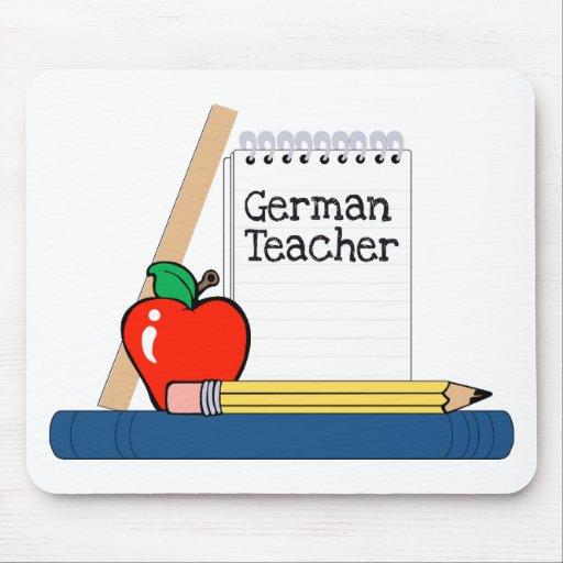German Teacher (Notebook) Mouse Mats