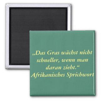 German Text - Humor Magnet