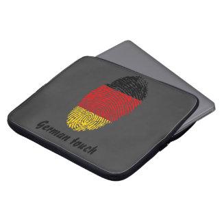 German touch fingerprint flag laptop sleeve