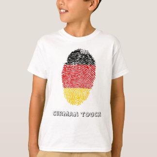 German touch fingerprint flag T-Shirt