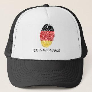 German touch fingerprint flag trucker hat