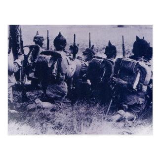 German Troops Postcard