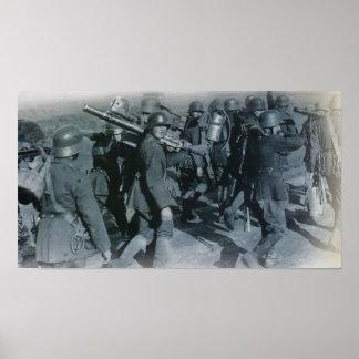 German Troops Poster