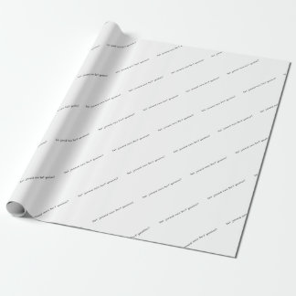 German -Village Wrapping Paper