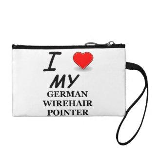 german wirehair love coin purse