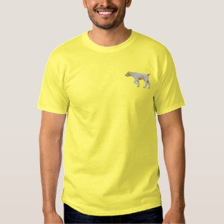 German Wirehair Pointer Embroidered T-Shirt