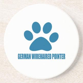 GERMAN WIREHAIRED POINTER DOG DESIGNS COASTER