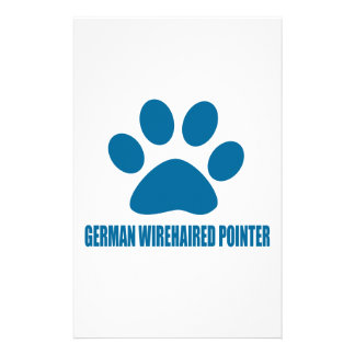 GERMAN WIREHAIRED POINTER DOG DESIGNS STATIONERY