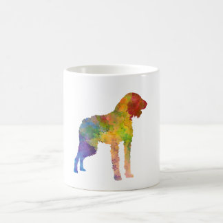 German Wirehaired Pointer in watercolor Coffee Mug
