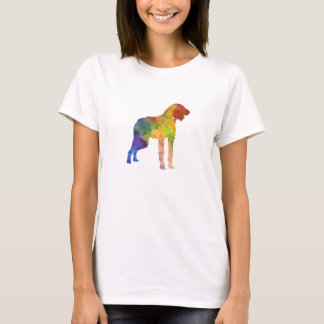 German Wirehaired Pointer in watercolor T-Shirt