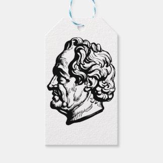 German writer Goethe Gift Tags